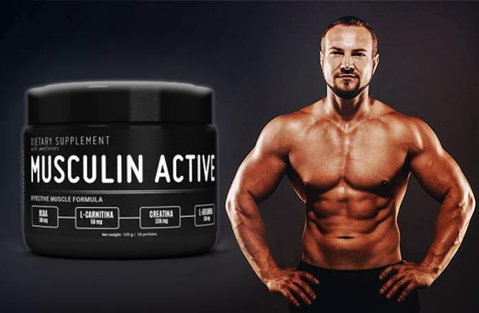 Musculin Active najlepszy środek na budowę masy mięśniowej